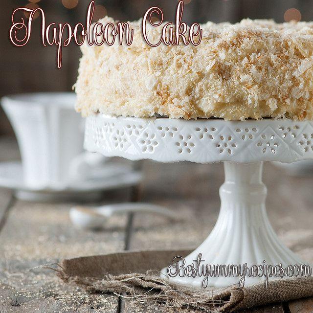 Napoleon Cake Food Recipes Napoleon Cake Cake Desserts Desserts