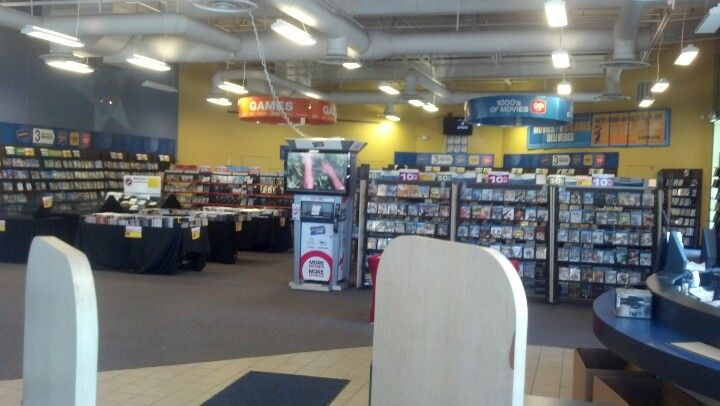 A Historical Sight For Certain The Inside Of A Video Store Blockbuster Video Blockbuster Video Video Store The Originals