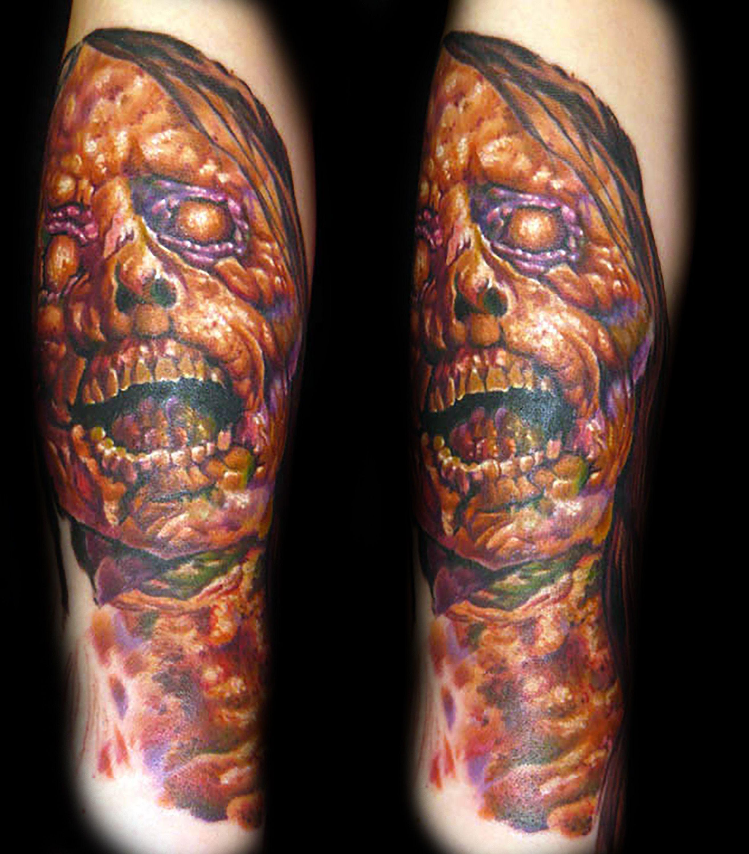 Zombie Tattoo Zombie tattoos, Vegas tattoo, Tattoo las vegas