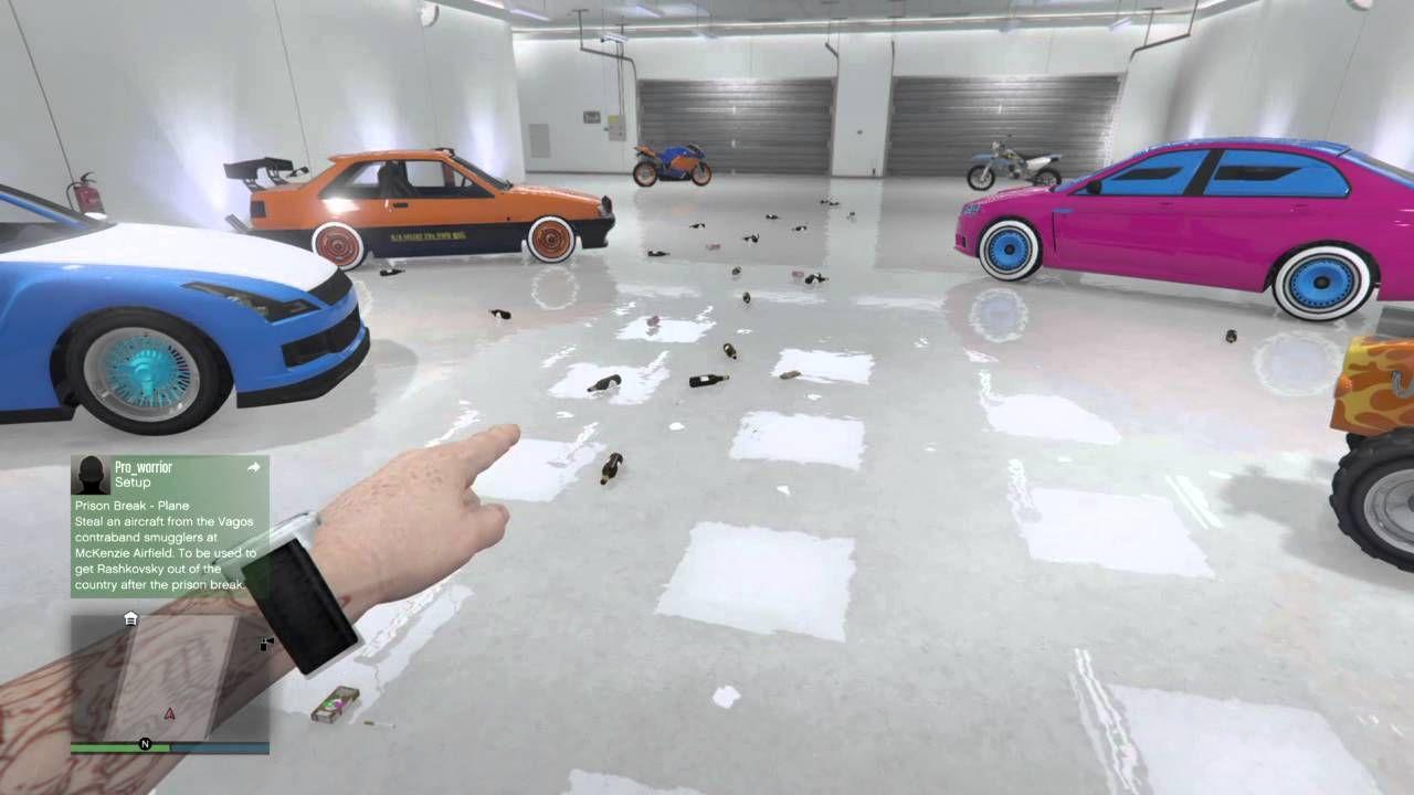 Gta V Beer Cans And Ecola Spawning In Garage Warrior Games