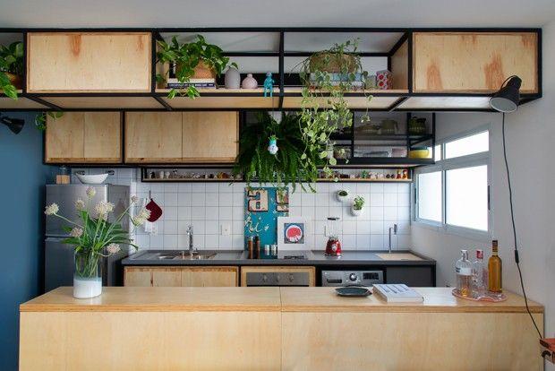 70 M Com Decor Descolado Para Um Jovem Designer Interiores
