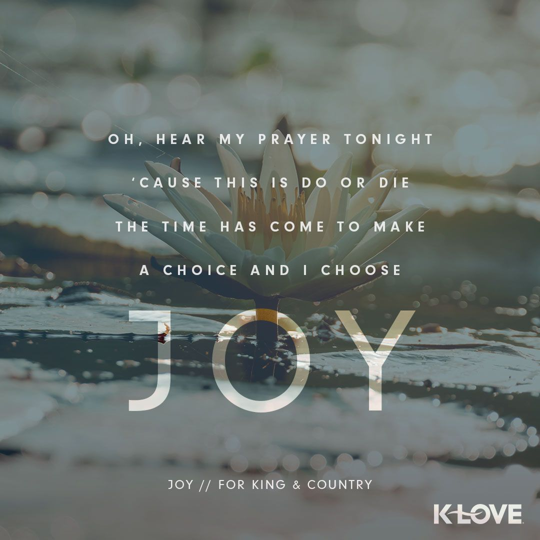 Image result for Joy by For King and Country lyrics