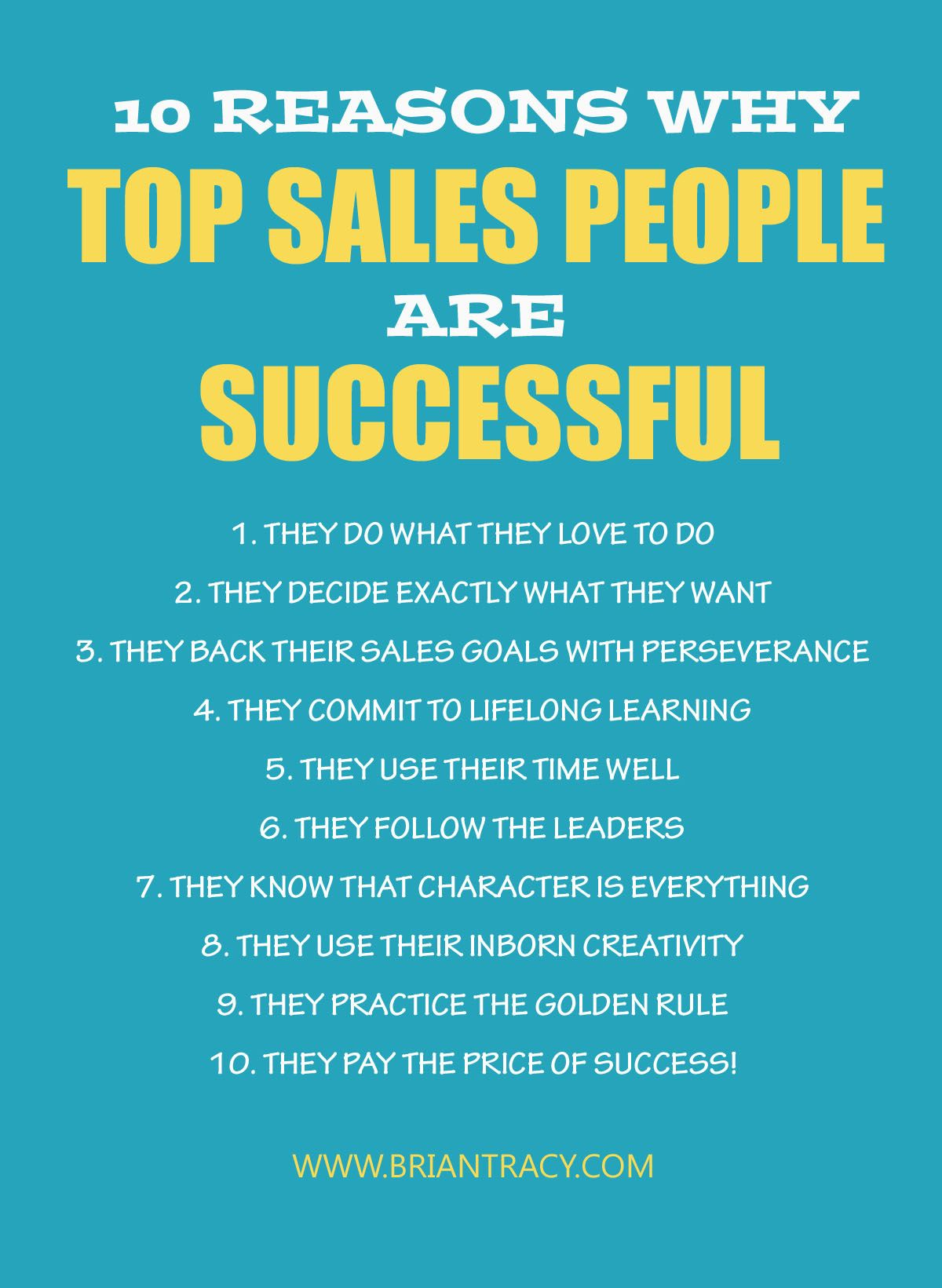 Reasons Why Makeup Is Important: 10 Reasons Why Top Sales People Are Successful: Boost Your