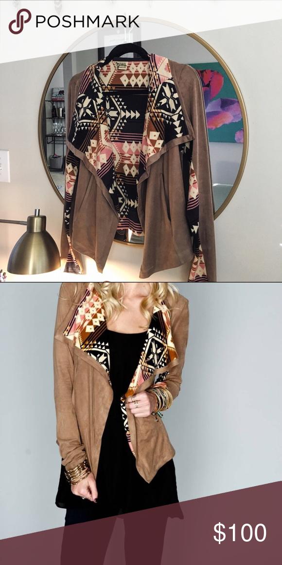 Show Me Your Mumu - Baja Mix Jacket Size medium. Sold out. Worn once. EUC. Show Me Your MuMu Jackets & Coats