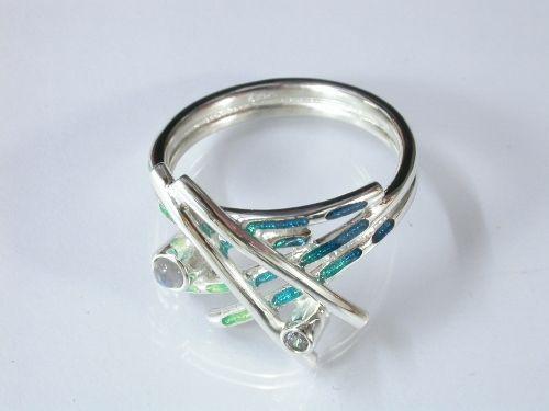 67753 - Sheila Fleet Wild Grasses Ring