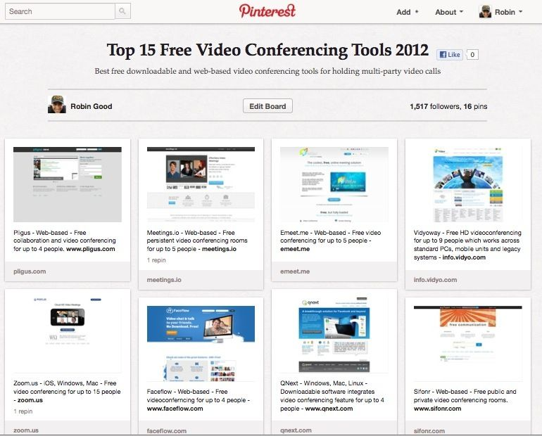 Best 15 Free Video Conferencing Tools 2012 | Web 2 0 Tools