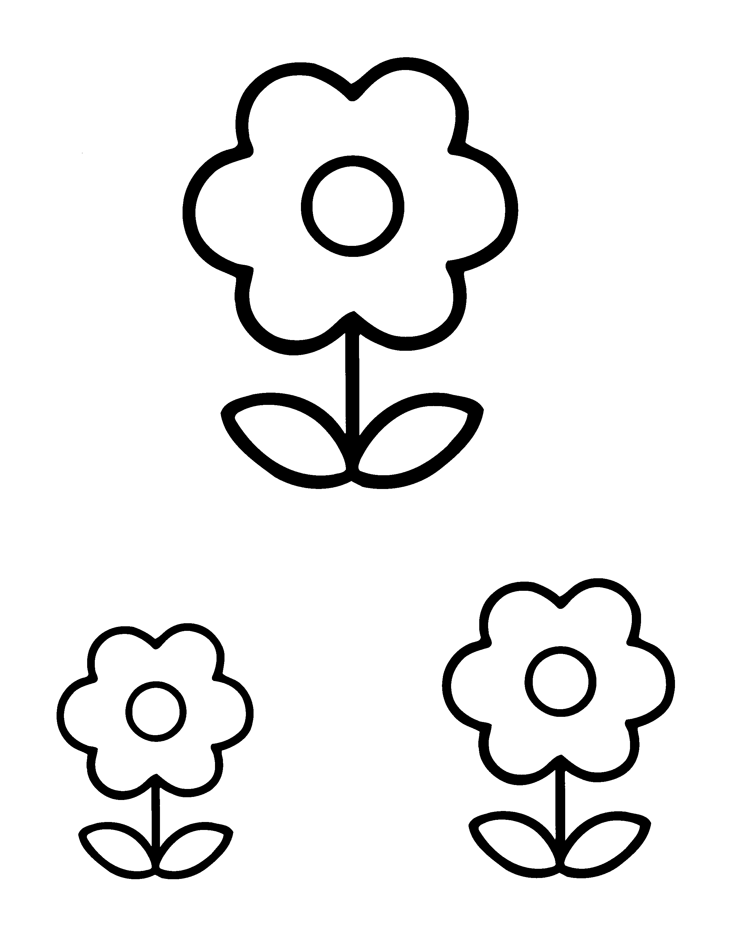 pin juf eline op lente bloem kleurplaten kleurplaten