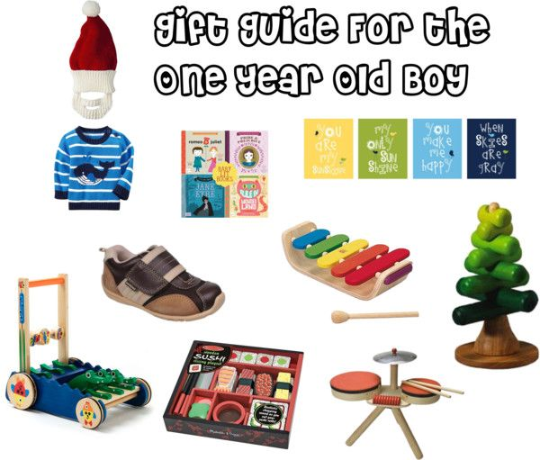 Gift Guide (Part Four) The One Year Old Boy. Could Work