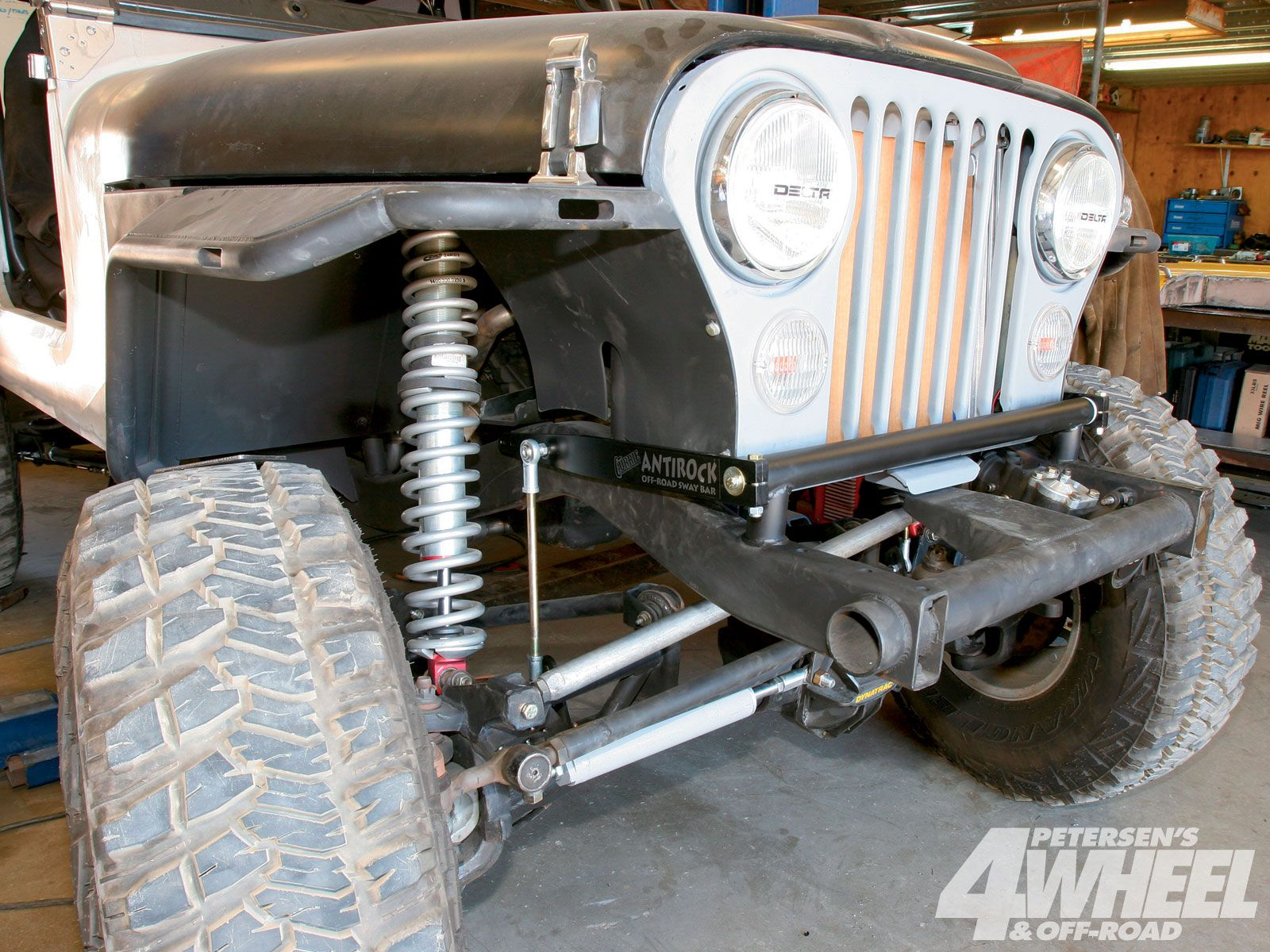 131 1012 Scratch Built Scrambler Jeep Cj8 Front Grill Shot Photo 1 Wiring Harness