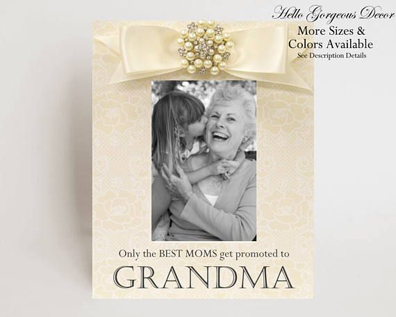 Grandparent\'s Day Gift Grandmother Grandma Gift Personalized Picture ...
