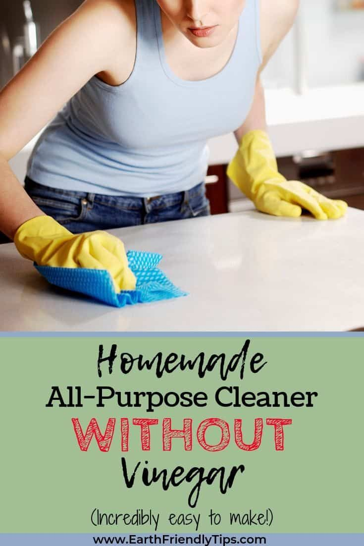 How to Make Homemade All-Purpose Cleaner Without Using