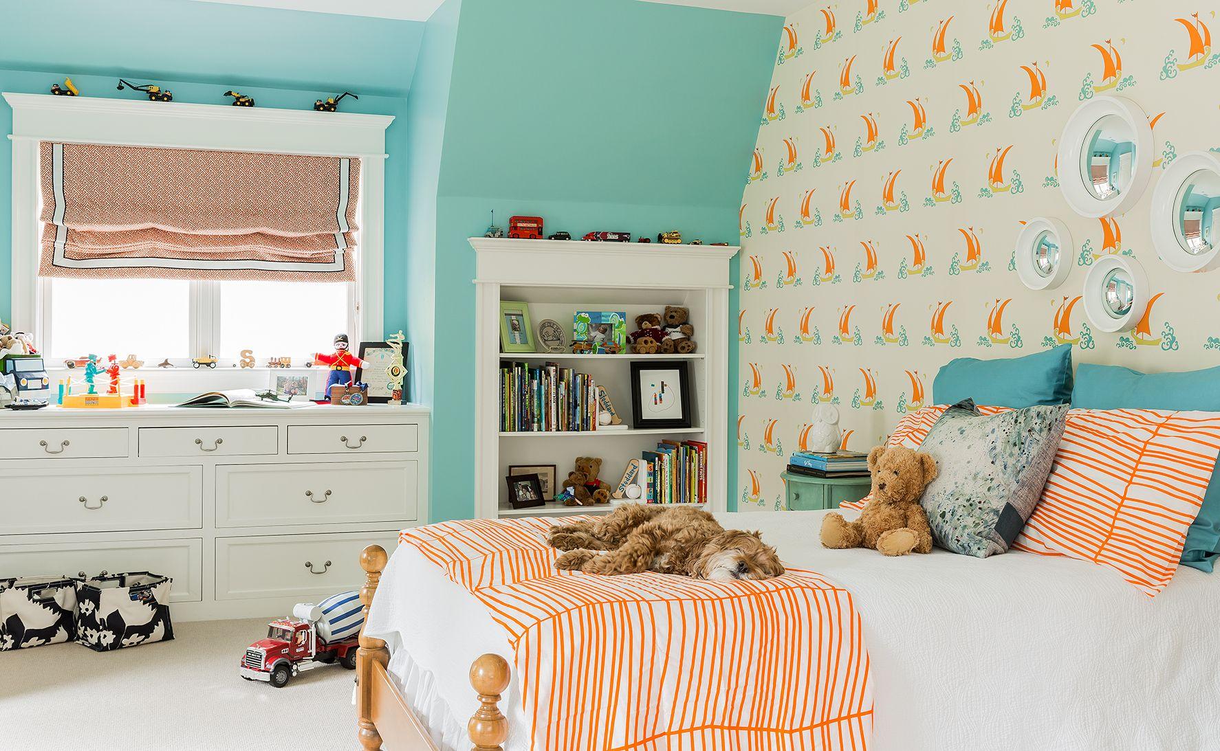 Kleuren Slaapkamer Jeugd : Portfolio elements of style blog kids rooms babies wallpapers