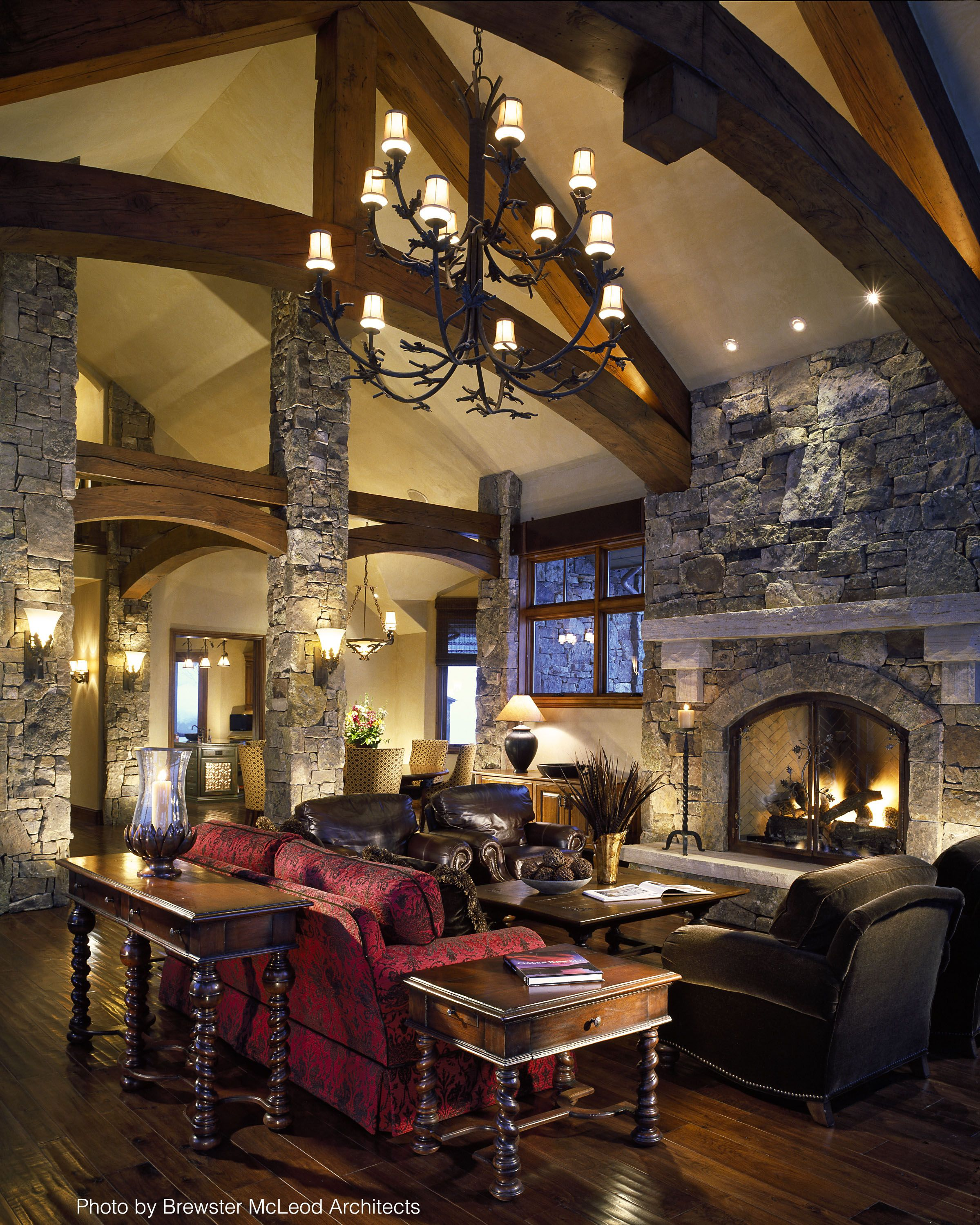 6 Hot Fireplace Design Ideas Cabin Chic Country Chic D
