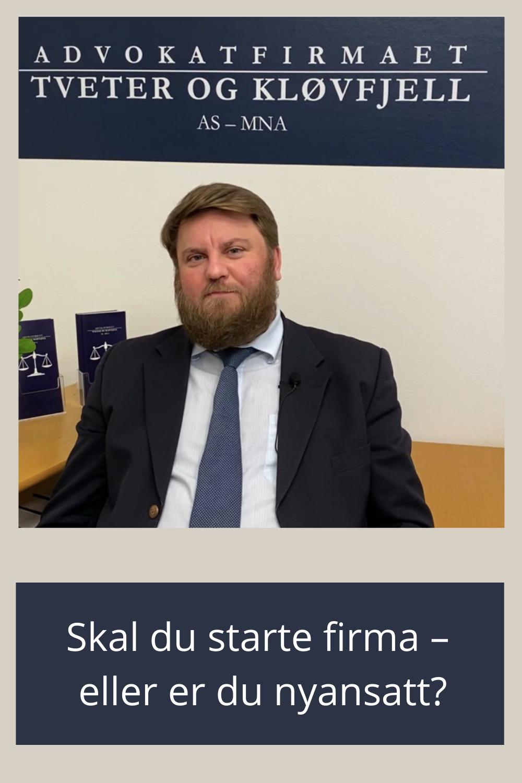 Vi er glade for avtalen vi nå har inngått med Stolt Håndverker, sier advokat Preben Kløvfjell. Avtalen innebærer blant annet ekstra gunstige avtaler for leserne/følgerne av Stolt Håndverker. Husk: Det kan være lurt å snakke med en advokat FØR du går inn i en kontrakt. Du bør ikke vente til du eventuelt ønsker deg ut av den. -Dersom du lurer på noe i forbindelse med at du skal starte et firma etter at svennebrevet er tatt, så ta kontakt, sier advokat Preben Kløvfjell.