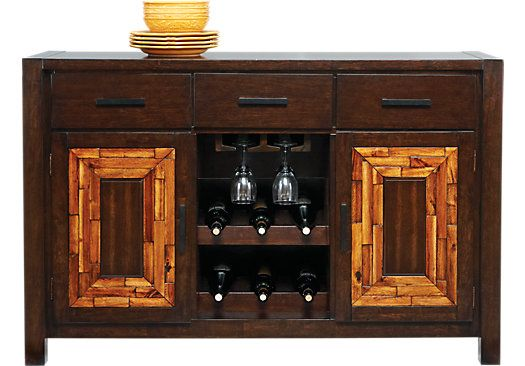 Shop For A Ridgeland Park Server At Rooms To Go Find Servers That Will Look Great In Your Home And Complement The Rest Of Furniture Home Furniture Rooms To Go
