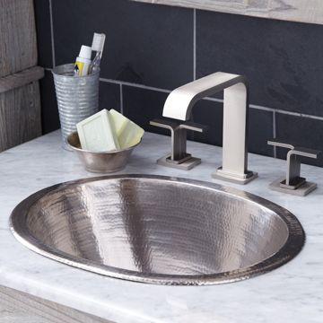 Cameo Undermount Bathroom Sink Copper Bathroom Sink