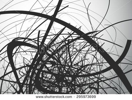 Curved Line Design Art : Abstract art vector background with curvy curved lines