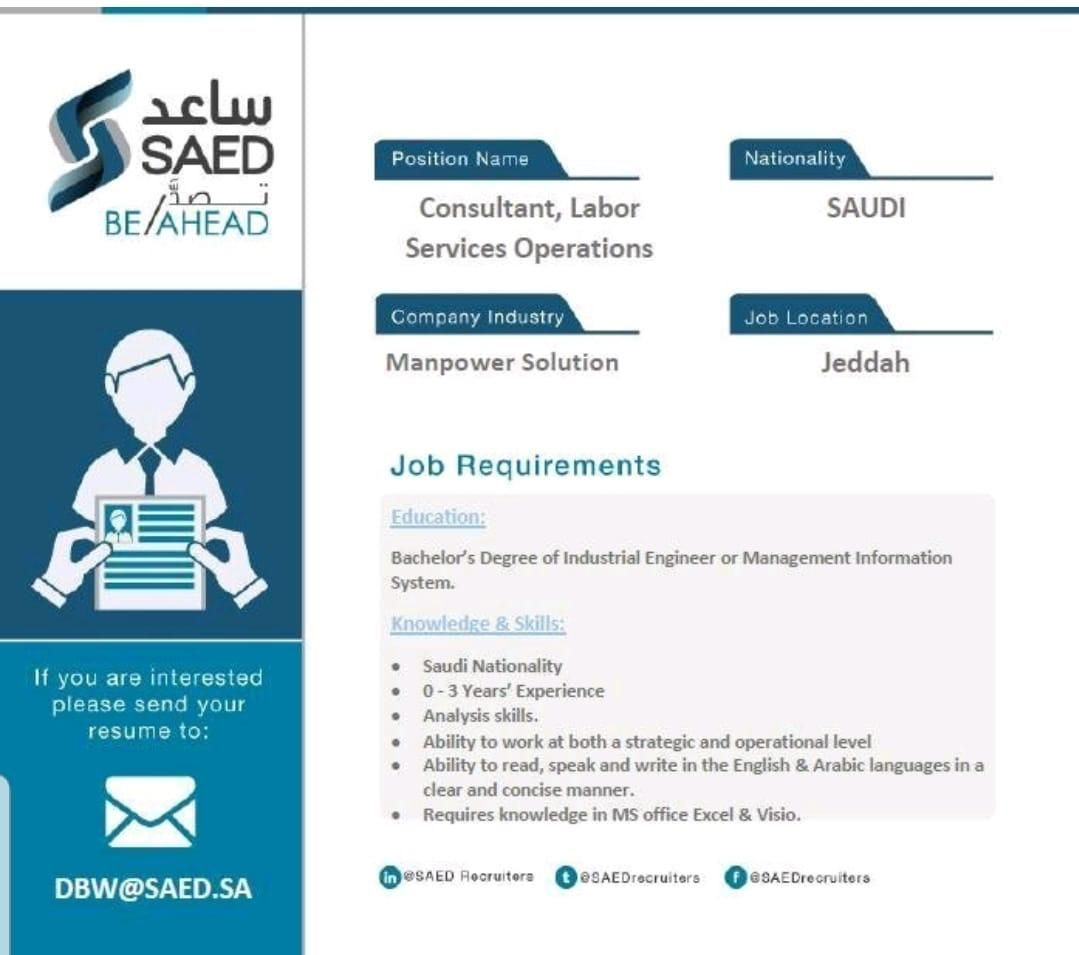 Human Resources Ksa Job Openings Job Opening Human Resources Management Information Systems
