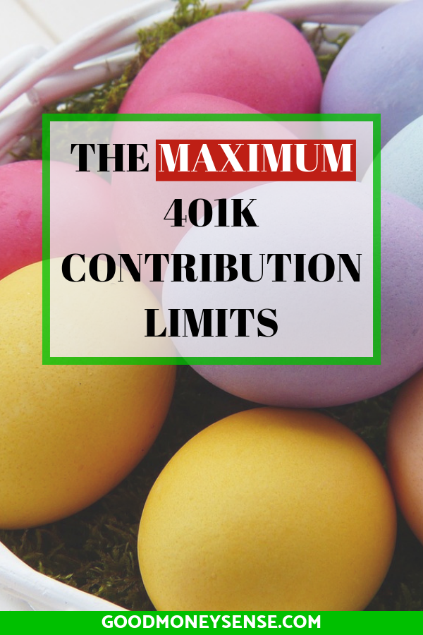401k Contribution Limits for 2020