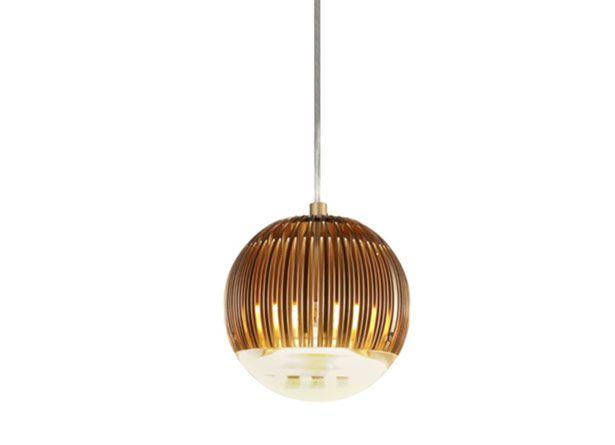 Fin Light Round Copper By Tom Dixon Aluminum Pendant Lighting Round Pendant Light Copper Pendant Lights