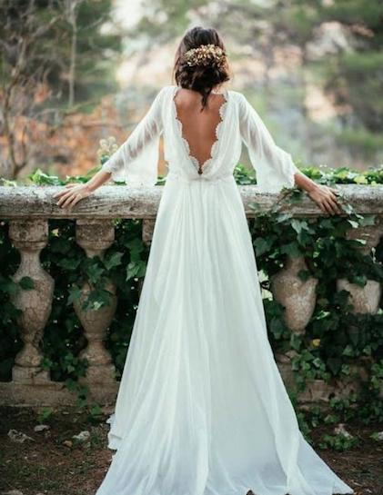 Verzameld: dit zijn de 25 allermooiste bruidsjurken op Pinterest ...
