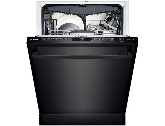 Best Buy Bosch 100 Series 24 Tall Tub Built In Dishwasher With Stainless Steel Tub Black Shx3ar76uc Built In Dishwasher Steel Tub Tub