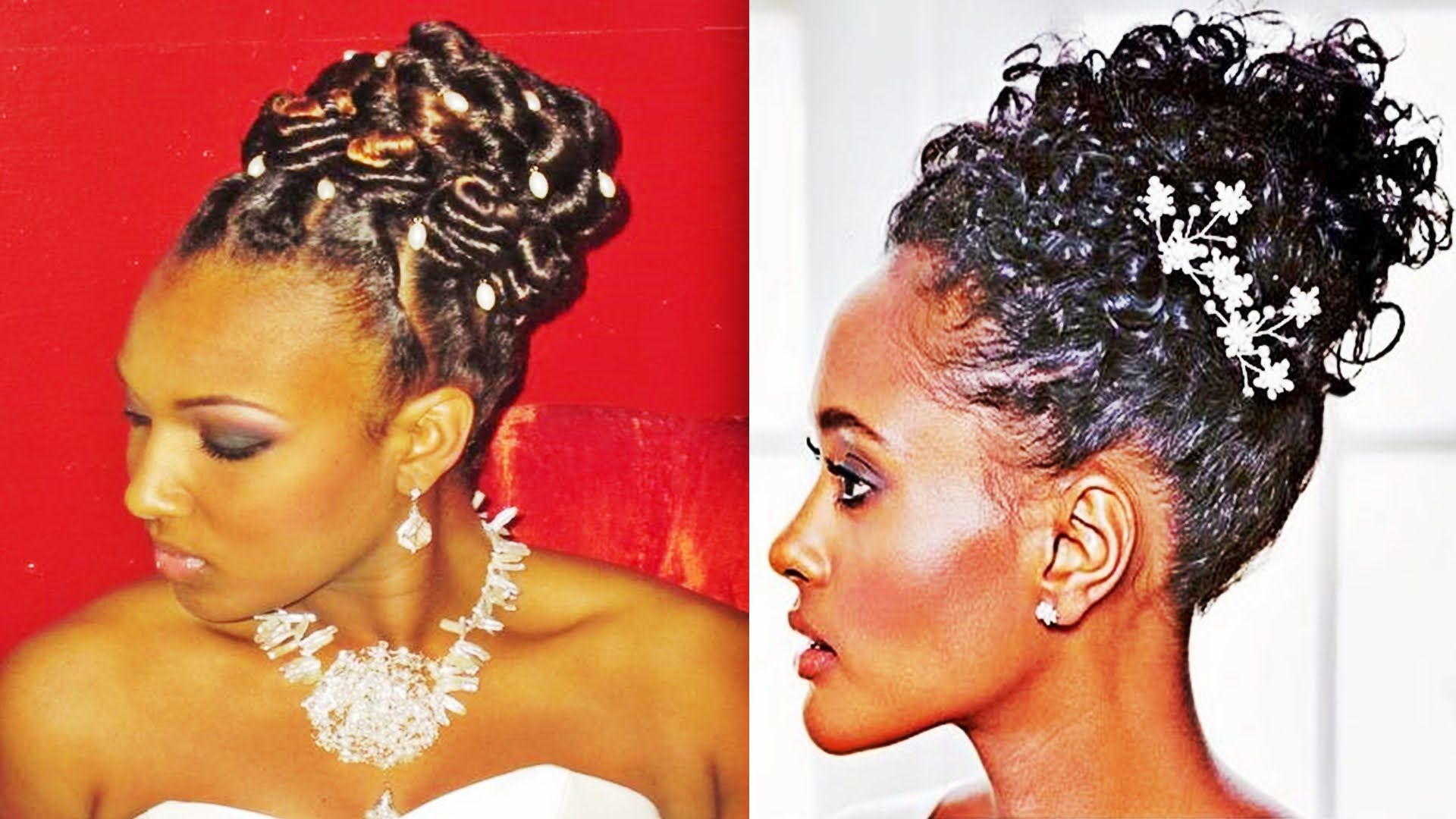 pin up hairstyles wedding for black women | hairstyles