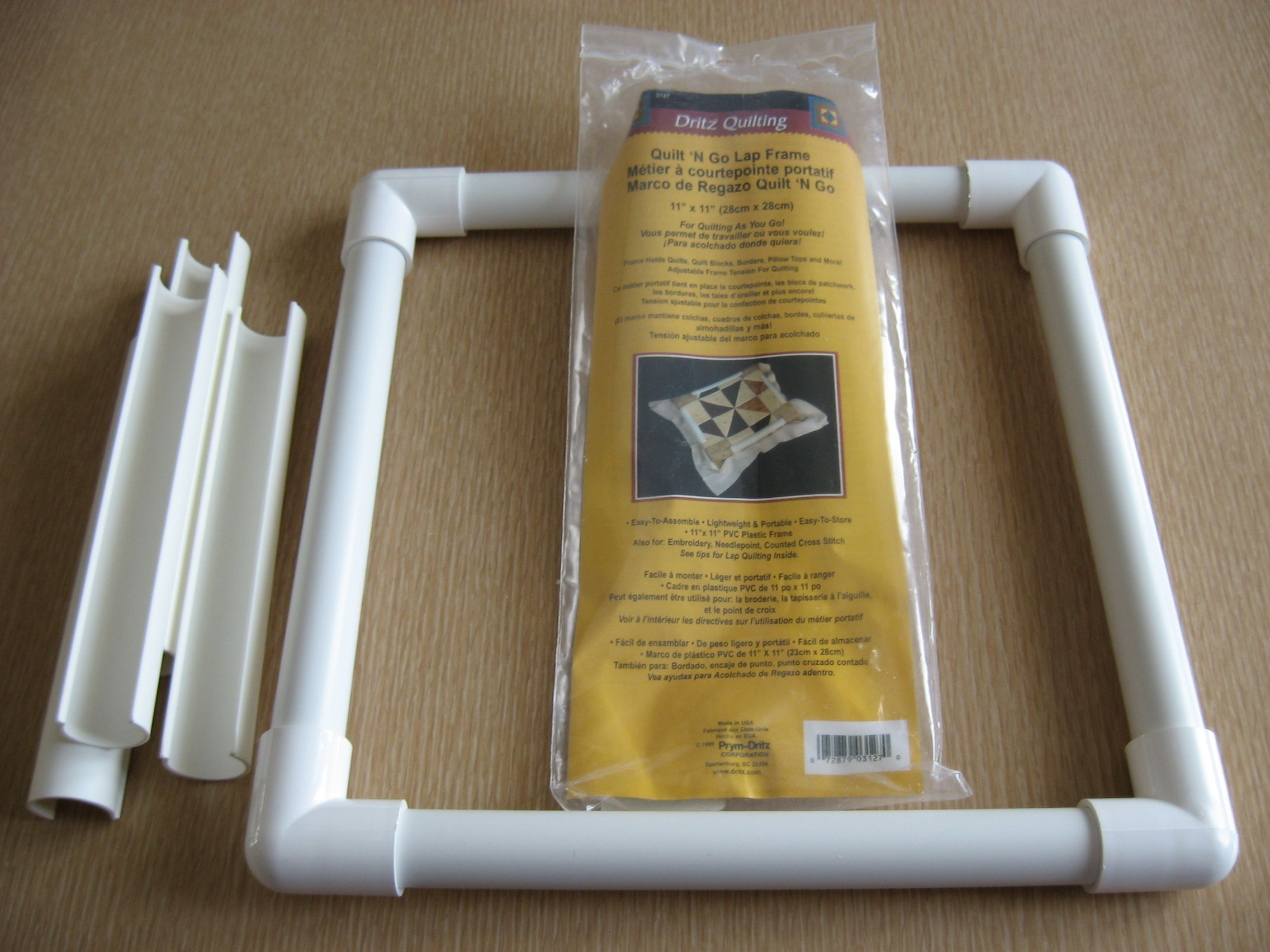 How To Make A Quilting Frame Out Of Pvc Pipe