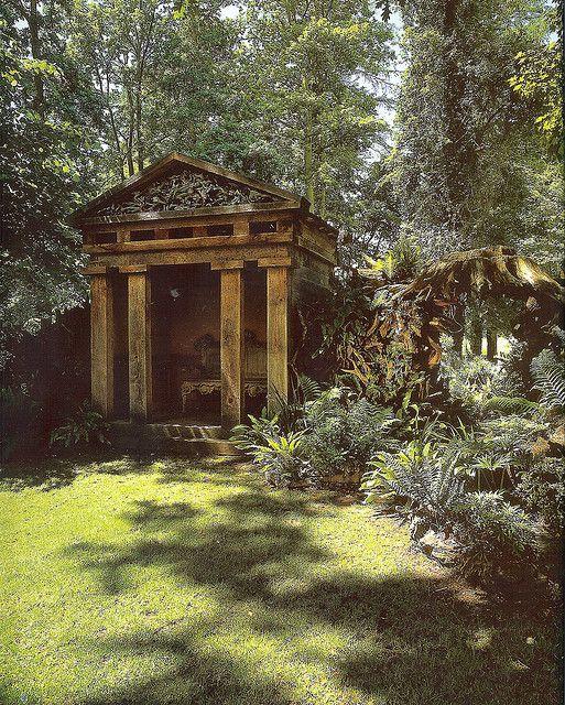 Estate Garden, English Gazebo