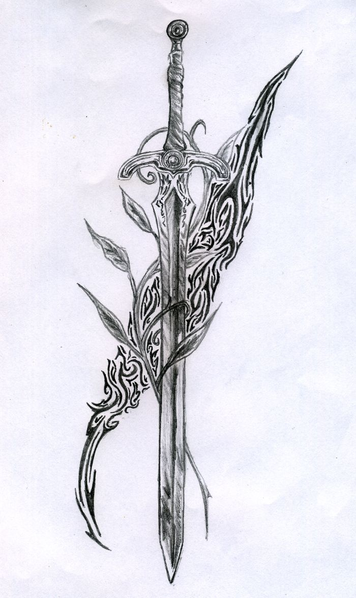 sword tattoo - regis666 deviantart | Valkyrie Tattoo | Pinterest ...