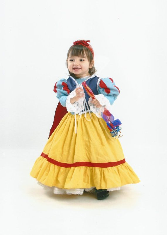 SALE+Snow+White+princess+halloween+kid+costume+disney+  sc 1 st  Pinterest & Snow White princess halloween kid costume disney custom made FREE ...