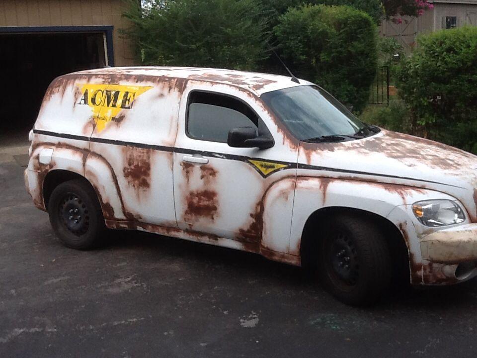 Hhr Old Paint Chevy Hhr Cute Cars Panel Truck