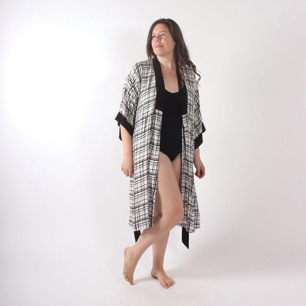 Suki Kimono PDF Pattern | Project #SewMyStyle 2018 | Pinterest ...