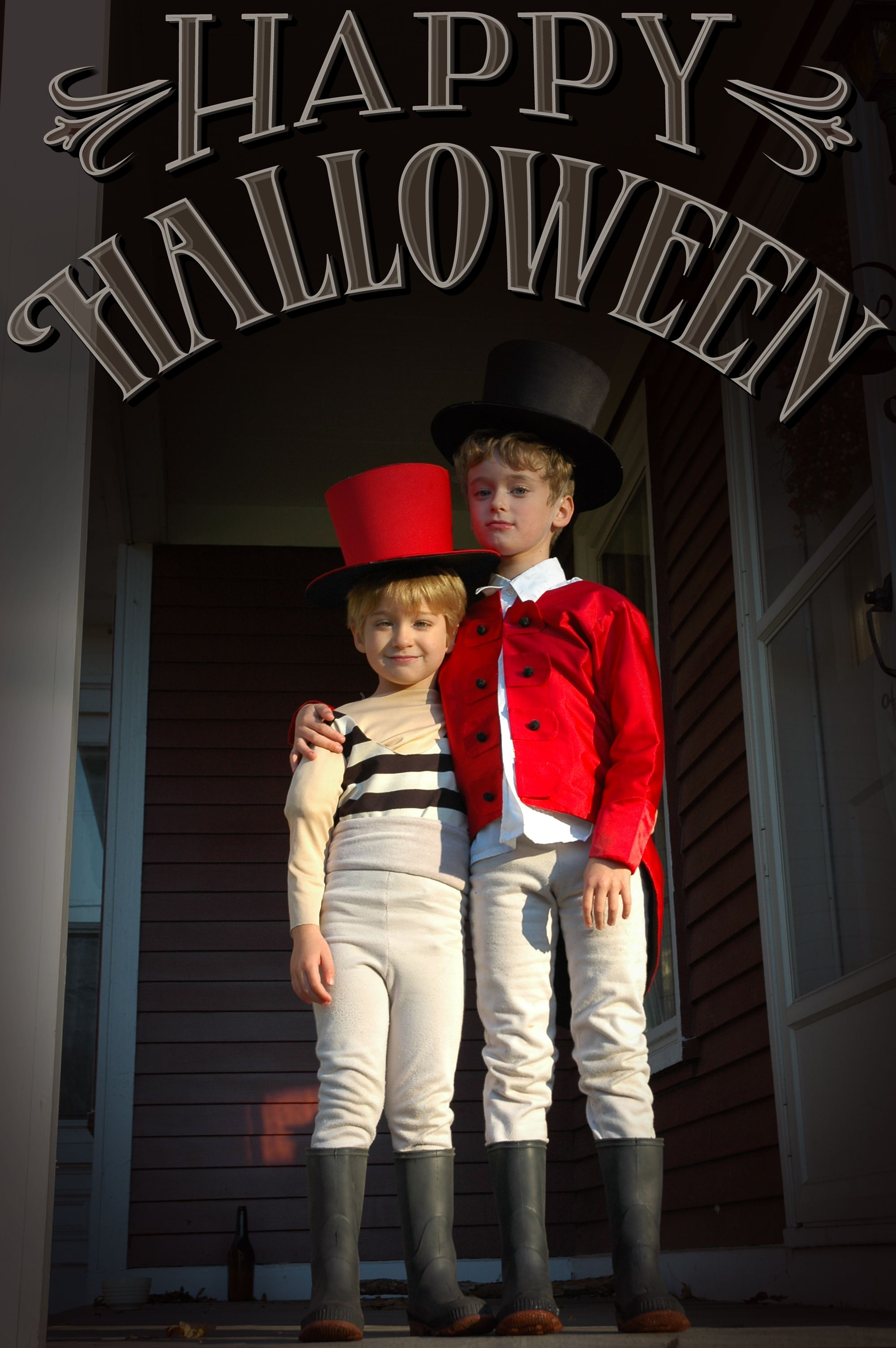 Costumes Lion Tamer & Strong Man Halloween