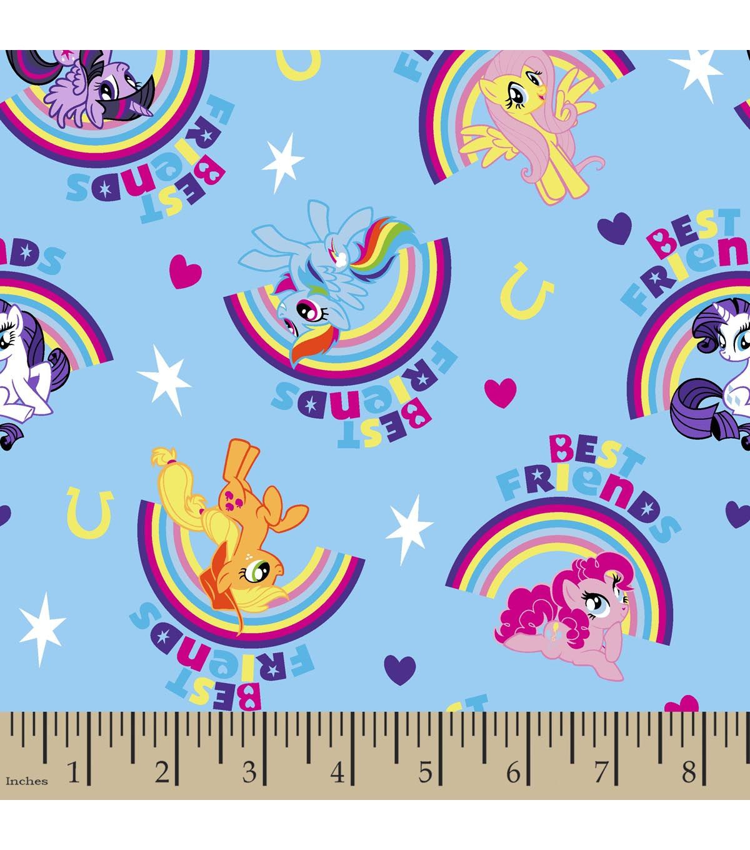My little pony rainbow cotton fabric pony rainbows and fabrics