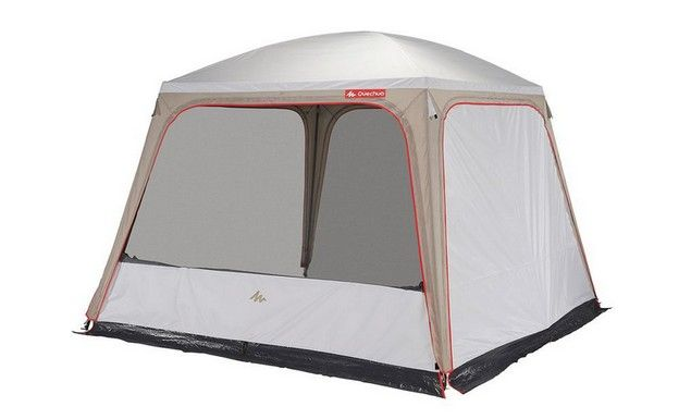 Living Area 3m X 3m Fresh Shelters Quechua Tente Decathlon