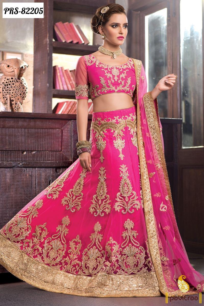 Indian Wedding Bridal Lehenga Cholis For Modern Bride In Lowest Wholesale Rate