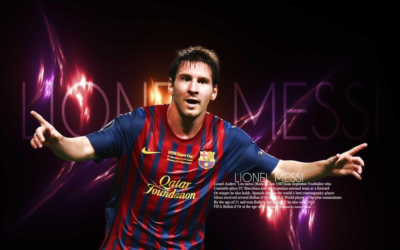 Lionel Messi 2012 HD Desktop Wallpaper High Definition