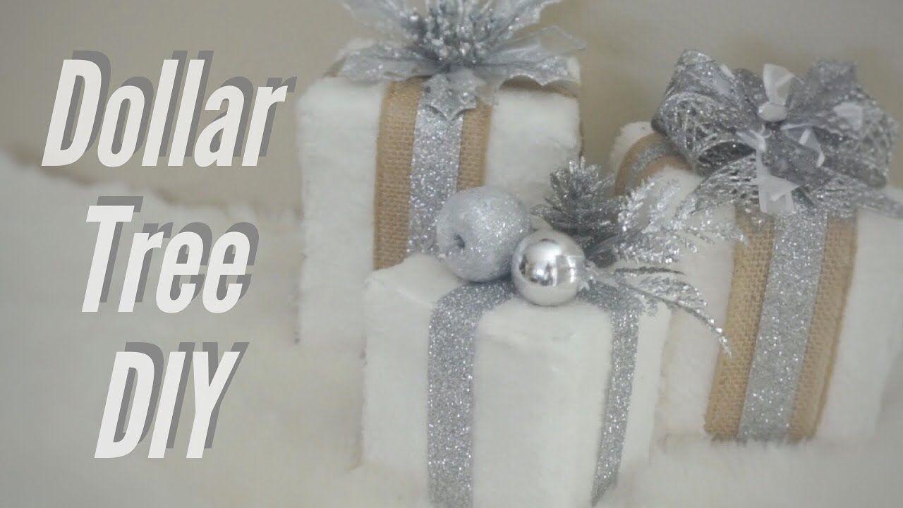 DOLLAR TREE DIY🎄RUSTIC GLAM 💎 | Dollar tree diy, Christmas ...