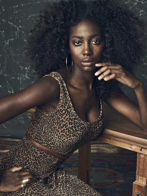 Actress Mouna Traore - Super Natural Everything I Am Aiming For -6849