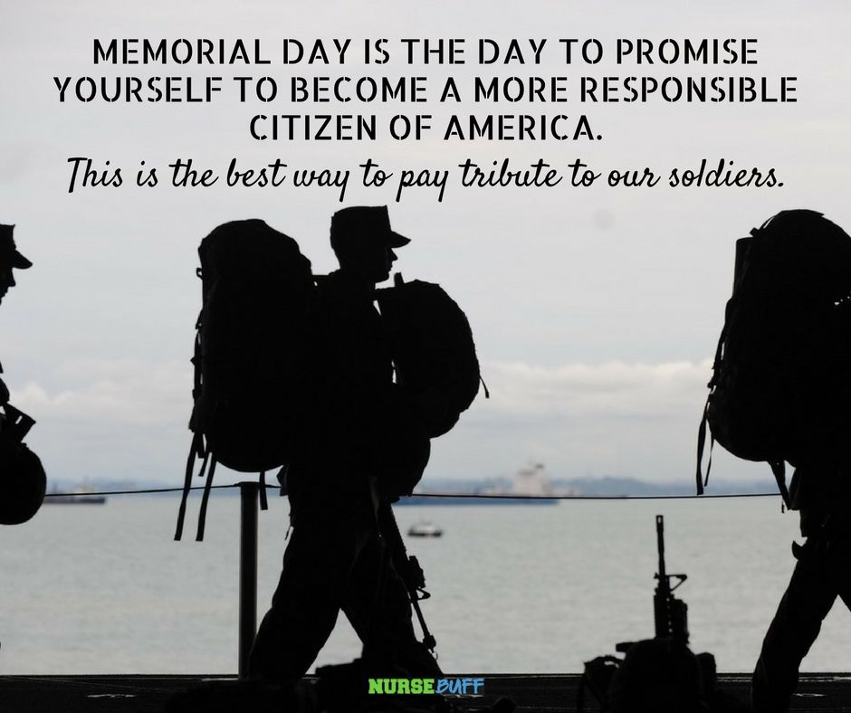 Memorial Day Quotes Inspirational: Memorial Day Greetings For Nurses
