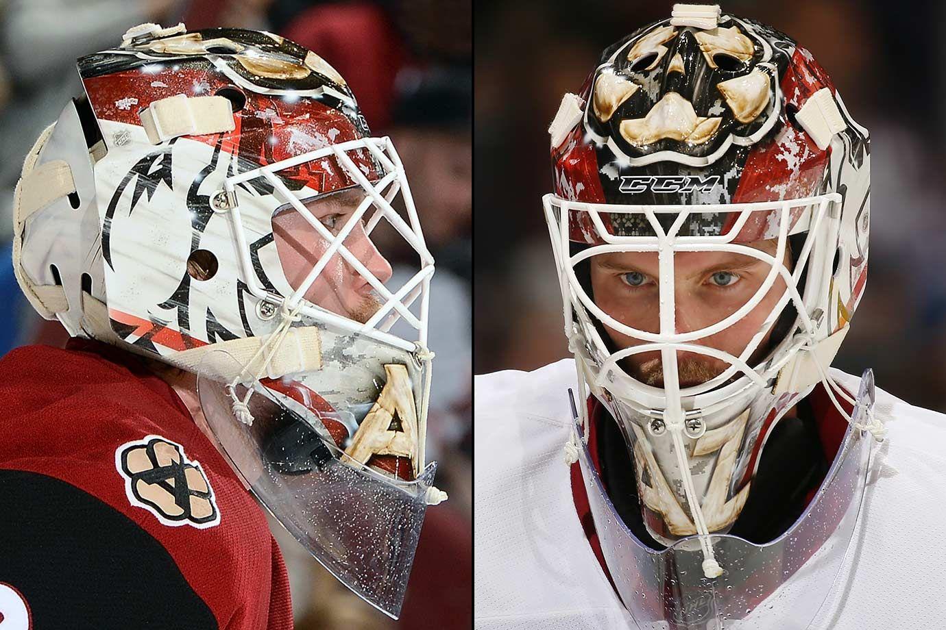 NHL Goalie Masks by Team (2016)(이미지 포함)