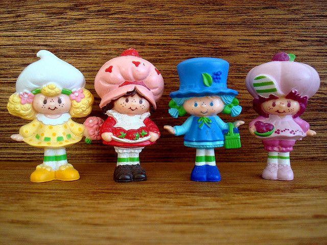 Pals Childhood Toys My Memories Vintage Strawberry Shortcake Dolls