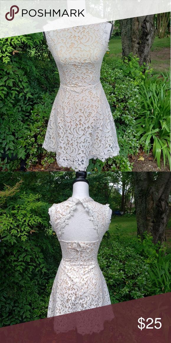 Francescas cream dress
