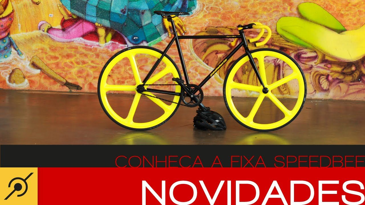 Pedaleria - Conheça a bike fixa Speedbee