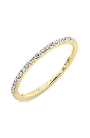 Stackable Straight Diamond Band Ring Nordstrom Diamond and Ring