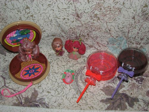 Vintage Liddle Kiddle Lolli Pop Sweet Treats Cookie Tutti Frutti Greta Grape