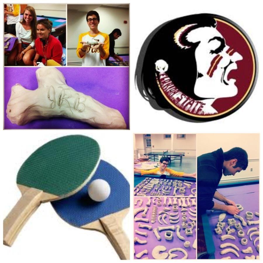 Ping Pong & Bone Making at FSU.