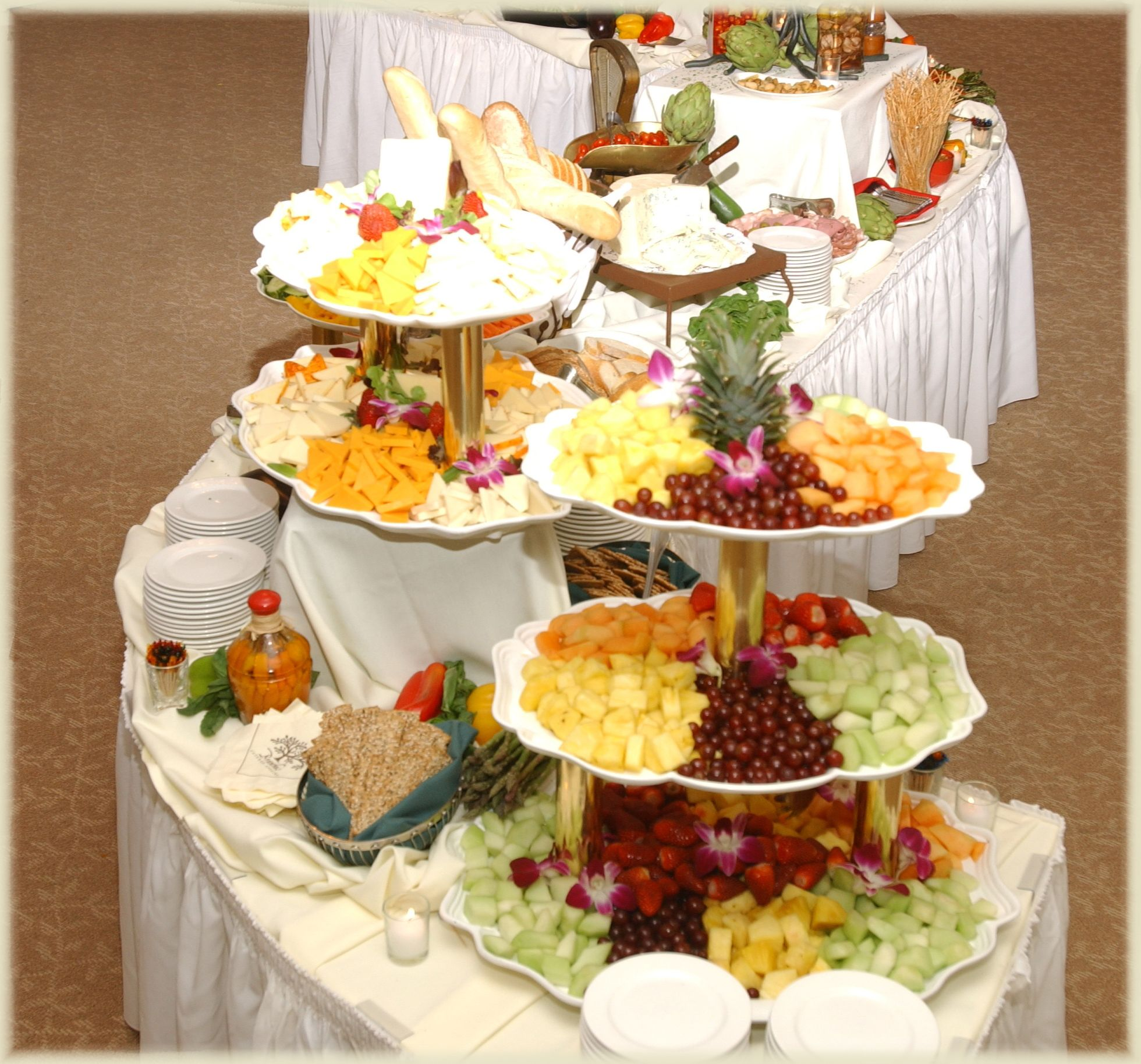 Wedding Reception Buffet Food Ideas: Social Events Menus From Branches