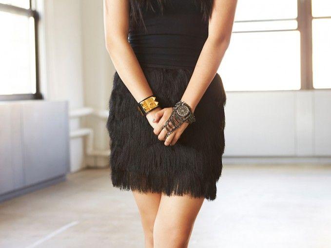 Leith Fringe Miniskirt